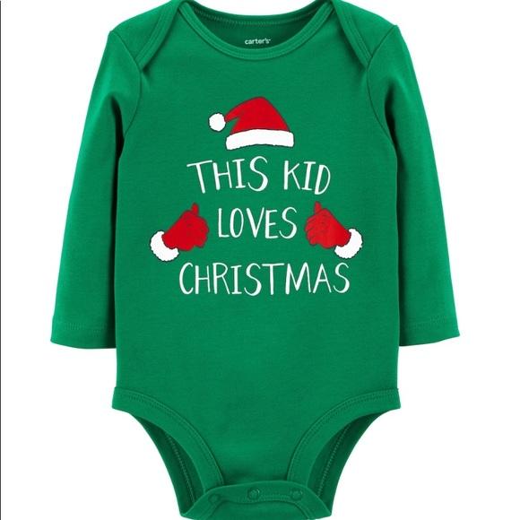 a33d549c4457 Carter's One Pieces | Bogo Carters Newborn Christmas Onesie | Poshmark